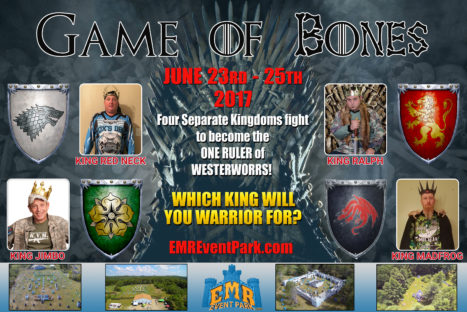 """""""GAME OF BONES"""" Paintball Event"""