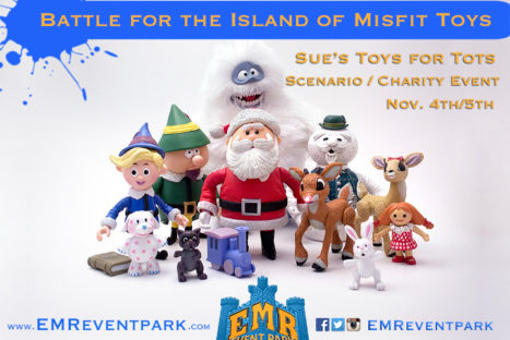 SUE'S TOYS FOR TOTS