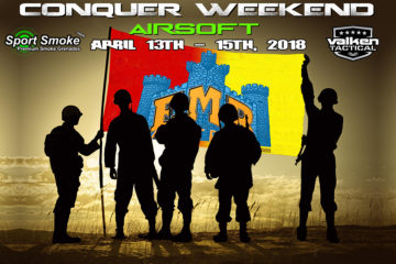 AIRSOFT CONQUER WEEKEND